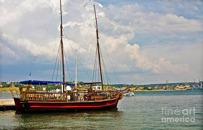 Photograph - Sailing Yacht by Irina Afonskaya