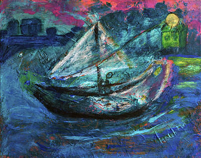 Painting - Sailor Going Home by Haleh Mahbod