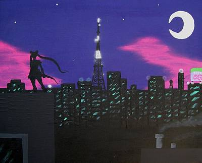 Sailor Moon Skyline Original by Andy White