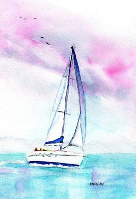 Painting - Sailors Delight by Carlin Blahnik