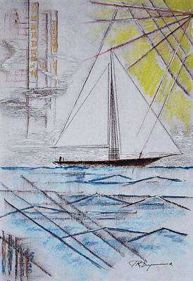 Drawing - Sailors Delight by J R Seymour