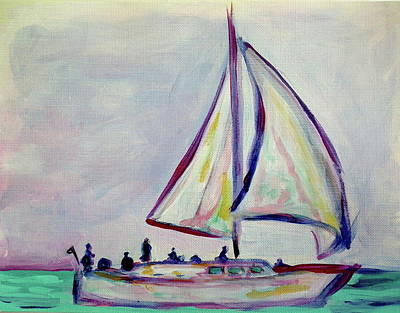 Painting - Sailor's Delight by Kristen Abrahamson