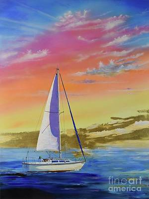 Painting - Sailor's Delight by Mary Scott