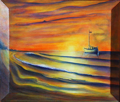 Art Print featuring the painting Sailor's Delight by Thomas Lupari