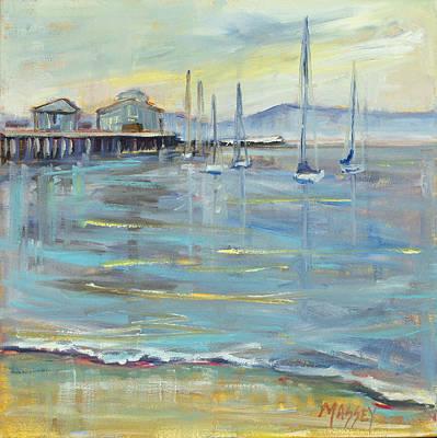 Painting - Sailors Dream, Plein Air by Marie Massey