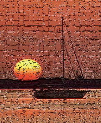 Red Roses - Sailors Sunrise by Mike Hendren