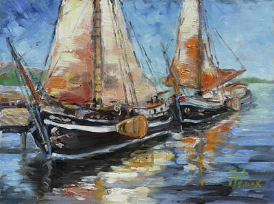 Painting - Sails 13 by Irek Szelag