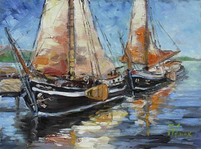 Sail Painting - Sails 13 by Irek Szelag