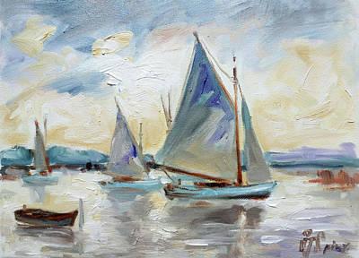 Painting - Sails 3 by Irek Szelag