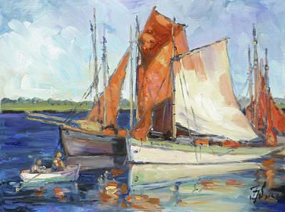 Painting - Sails 9 by Irek Szelag