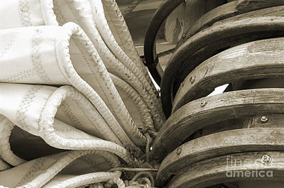 Photograph - Sails And Mast by Kathi Shotwell