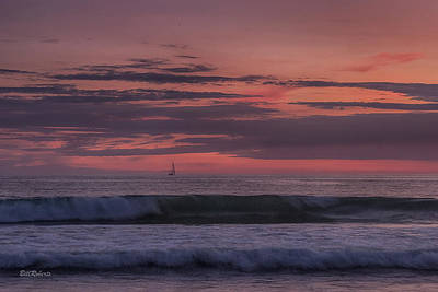 Moss Landing Photograph - Sails In The Sunset by Bill Roberts