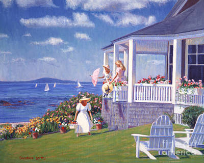 Sails Of Summer Art Print