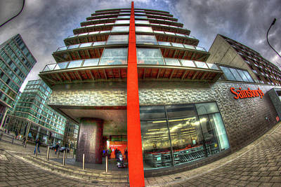 Milton Keynes Photograph - Sainsbury's Milton Keynes by KonTrasts