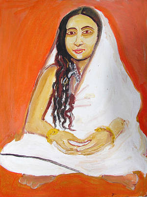 Painting - Saint 4 by Anand Swaroop Manchiraju