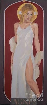 Saint Agnes Art Print
