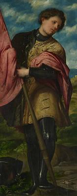 Painting - Saint Alexander by Treasury Classics Art