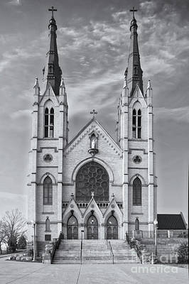 Photograph - Saint Andrews Roanoke Bw by Jerry Fornarotto