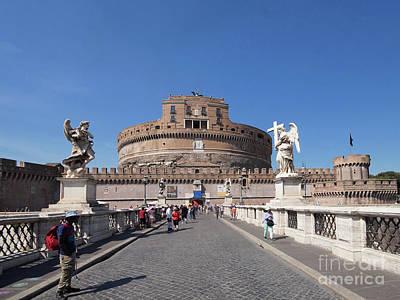 Photograph - Saint Angelo Rome 1 by Rudi Prott
