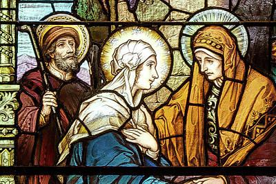 Photograph - Saint Anne's Windows by Jim Proctor