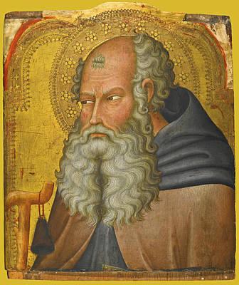 Bartolo Di Fredi Painting - Saint Anthony Abbot by Bartolo di Fredi