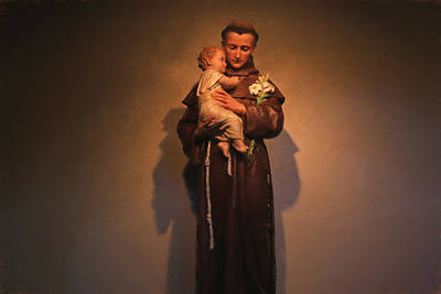 Photograph - Saint Anthony by Donna Kennedy