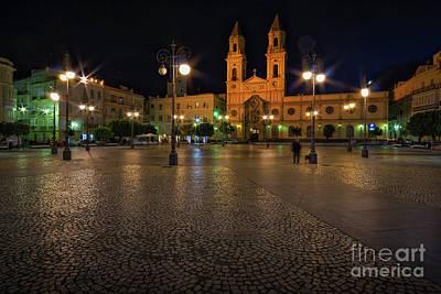 Photograph - Saint Anthony Plaza Cadiz Spain by Pablo Avanzini