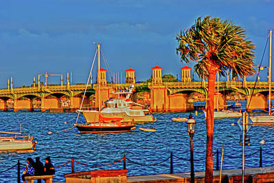 Photograph - Saint Augustine Bayfront Late Afternoon by Gina O'Brien