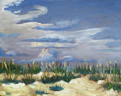 Painting - Saint Augustine Beach by D T LaVercombe