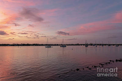 Photograph - Saint Augustine, Florida's Matanzas River Sunrise by Bill And Deb Hayes