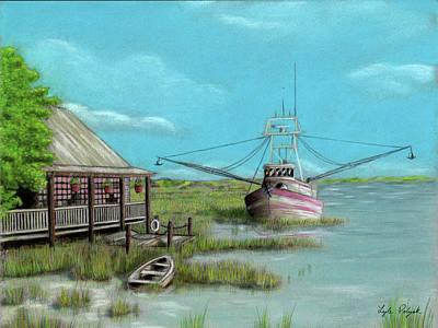 Pastel - Saint Augustine Fresh Catch by Lyle Polyak