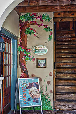 Photograph - Saint Augustine Mural by Gina O'Brien