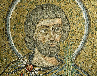 Byzantine Relief - Saint Barbaziano by Italian School