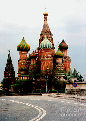 Photograph - Saint Basil's Cathedral by Jim Phares