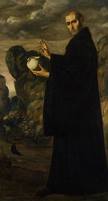 Painting - Saint Benedict by Francisco de Zurbaran