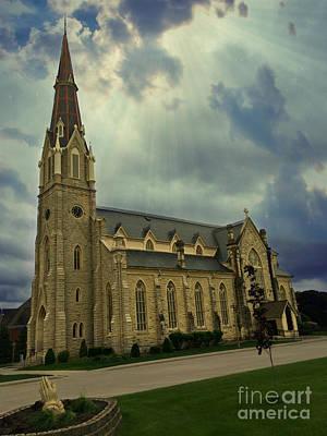 Photograph - Saint Boniface Church by Kathy M Krause