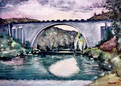 Painting - Saint Bridge by Geni Gorani