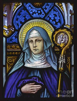 Saint Bridget. Art Print