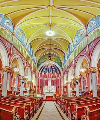Photograph - Saint Bridgets Romanesque Church by Susan Candelario