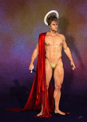 Controversy Digital Art - Saint Candy by Joaquin Abella