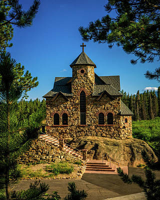 Photograph - Saint Catherine Of Siena Chapel by TL Mair