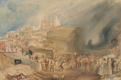 Painting - Saint Catherine's Hill Guildford Surrey by Joseph Mallord William Turner