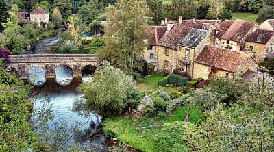 Charming Cottage Photograph - Saint Ceneri Le Gerei  by Olivier Le Queinec
