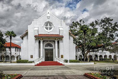 Photograph - Saint Charles Borromeo Catholic Church, La by Kathleen K Parker