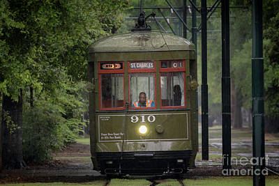 Photograph - Saint Charles Streetcar by Jerry Fornarotto