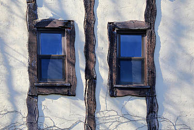 Photograph - Saint Clair Inn Windows by Mary Bedy