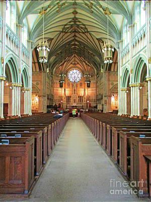 Photograph - Saint Dunstans 5 by Randall Weidner