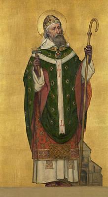 Saint Eligius Of Noyon Art Print