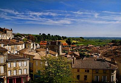 Photograph - Saint Emilion by Louise Fahy