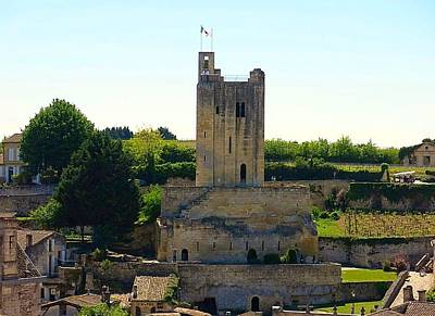 Photograph - Saint Emilion Medieval Ruins by Betty Buller Whitehead